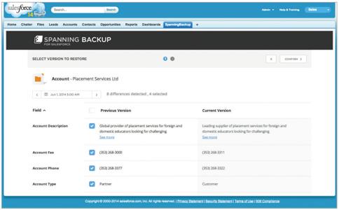 Spanning Backup For Salesforce Bigstorageworks Com